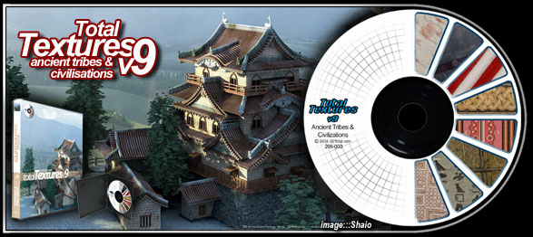 《超高质量3D贴图库》(3D TOTAL TEXTURES) 1-13CD[ISO]